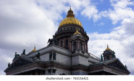 Dome of Saint Isaac's Cathedral, Saint Petersburg