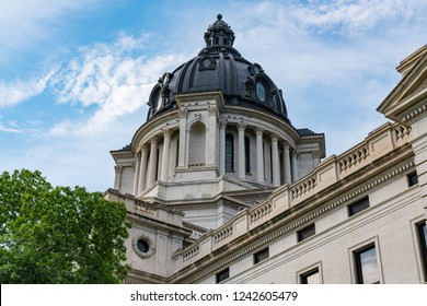 Dome of the South Dakota Capital Building in Pierre, SD