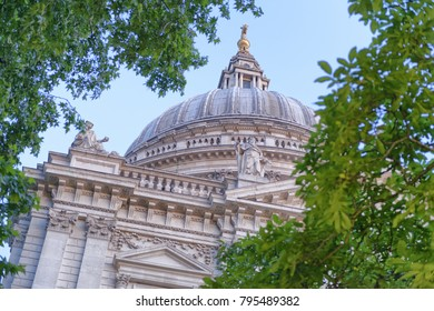 Dome of St. Paul Cathedral, London.