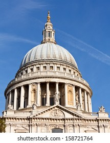 Dome of St Paul's Cathedral in London