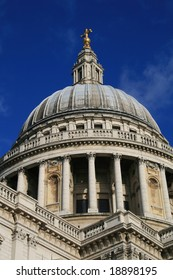 The dome of St. Paul's Cathedral, London