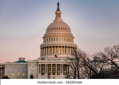 Dome of United States Capitol Building - Washington, DC, USA