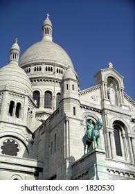 Domes of Sacre Couer church, Paris