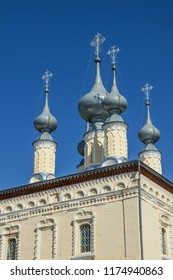 Domes Smolensk Church is one of the monuments of ancient Suzdal. Russia