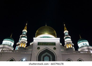 Ramadan bairam images stock photos vectors shutterstock the domes and the towers of the mosque in the night of ramadan altavistaventures Images