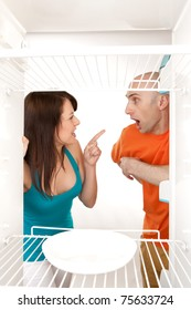 Domestic disagreement about shared marital responsibilities.