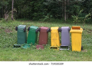 Domestic refuse bins, Thailand