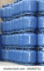 domestics gas cylinder storage for use