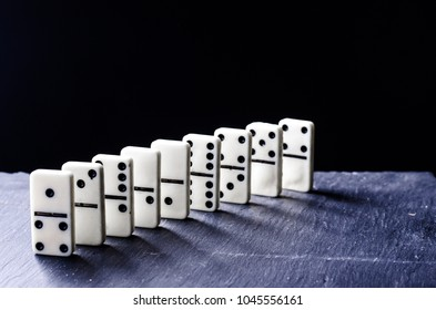 domino background abstraction