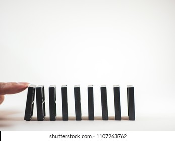 Domino effect chain of reaction