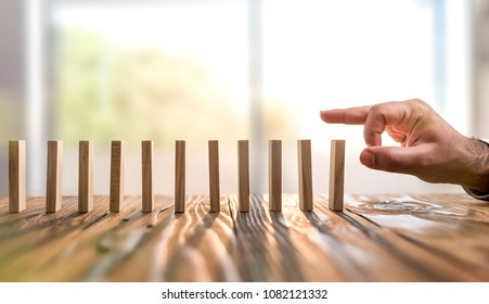 Domino Effect. Just Starting or Triggering Multy Effective Business Process