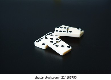 Dominoes, close-up