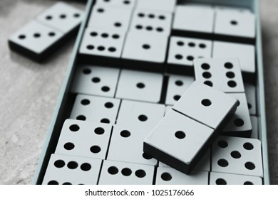 dominoes. Domino effect. game for children and adults