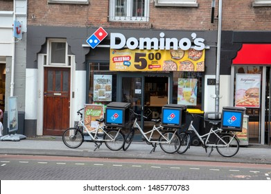 Domino's Pizza Restaurant At Amsterdam The Netherlands 2019