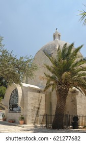 Dominus Flevit, Roman Catholic church, on the Mount of Olives in Jerusalem