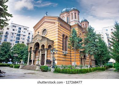 Domnita Balasa church in Bucuresti, Romania.