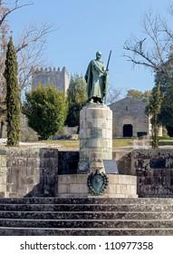 Don Affonso Henrriques Statue - Guimaraes, Portugal