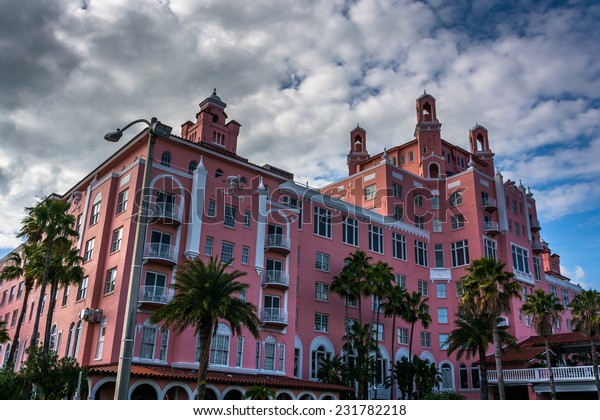 The Don Cesar Hotel in St. Pete Beach, Florida.