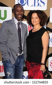 Don Cheadle, Bridgid Coulter Don Cheadle at the CBS, Showtime, CW 2013 TCA Summer Stars Party, Beverly Hilton Hotel, Beverly Hills, CA 07-29-13