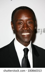 """Don Cheadle at LACMA presents """"The Unmasking,"""" LACMA< Los Angeles, CA. 09-25-10"""
