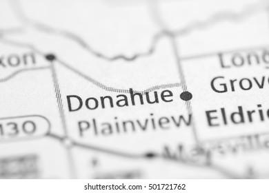 Donahue. Iowa. USA.