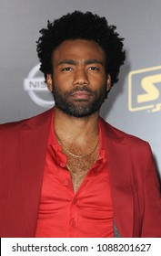 Donald Glover at the premiere of Disney Pictures and Lucasfilm's 'Solo: A Star Wars Story' held at the El Capitan Theatre in Hollywood, USA on May 10, 2018.