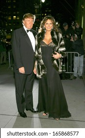 Donald Trump, Melania Trump at The Fashion Group International's Night of Stars, Cipriani Restaurant 42nd Street, New York, NY, October 27, 2005