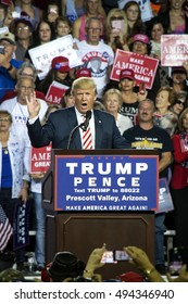 Donald Trump Presidential Rally, Prescott Valley, Arizona October 4, 2016