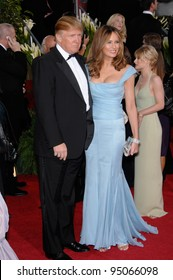 DONALD TRUMP & wife MELANIA at the 64th Annual Golden Globe Awards at the Beverly Hilton Hotel. January 15, 2007 Beverly Hills, CA Picture: Paul Smith / Featureflash