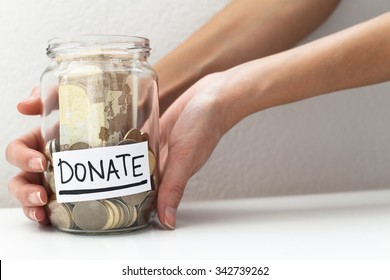 Donate Money Jar / Donation