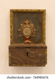 Donation for church and good deeds - Vintage box