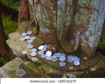 donation money for Jizo Bodhisattvas