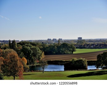 Doncaster from Cusworth South Yorkshire England