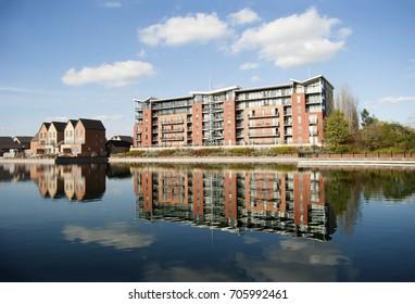 Doncaster lakeside buildings