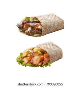 doner chicken and beef