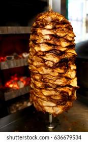 doner kebab meat