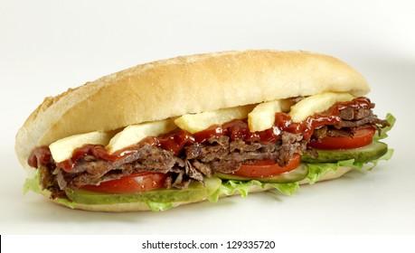doner kebab sandwich