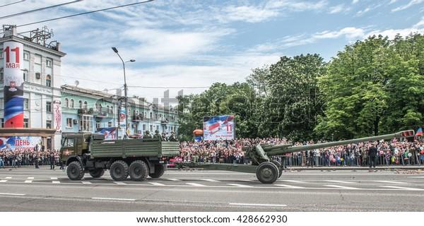 Donetsk Donetsk People Republic May 9 Stock Photo (Edit Now) 428662930