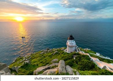 The Dongyong Lighthouse, in Dongyin Township, matsu