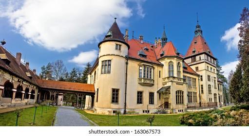 Donji Miholjac castle panorama, Slavonia, Croatia