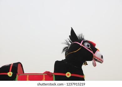 Donkey props of Chinese folk dance