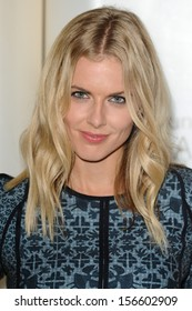 Donna Air arrives for the Samsung Galaxy Gear and Galaxy Note 3 UK launch at the ME Hotel, London. 24/09/2013