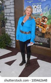 "Donna Dixon at the ""Yogi Bear"" Los Angeles Premiere, Village Theater, Westwood, CA. 12-11-10"