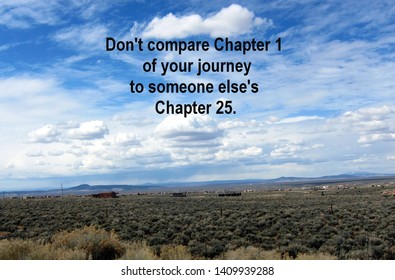 Don't Compare Your Chapter 1 With Someone Else's Chapter 25 Landscape with Clouds