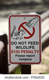 Don't Feed the Wildlife (environmental issues)