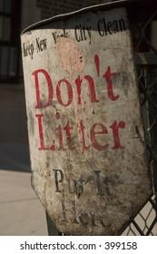Don't Litter Please