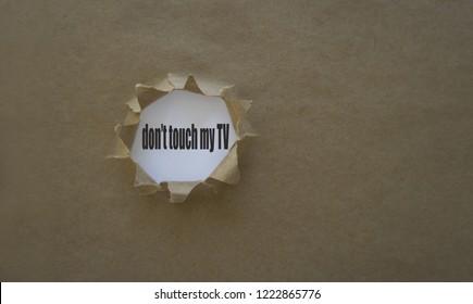 Tv Torn Images, Stock Photos \u0026 Vectors | Shutterstock