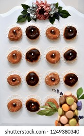 Donut board made for a party