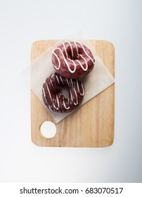 donut or fresh donut on a background