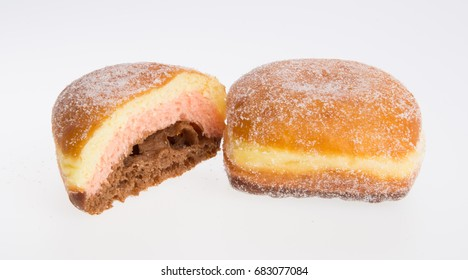 donut or sugar donut on a background